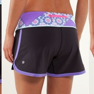 Lululemon Groovy Run Short Black Size 8